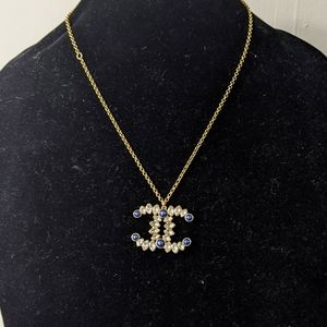 Chanel large charm necklace